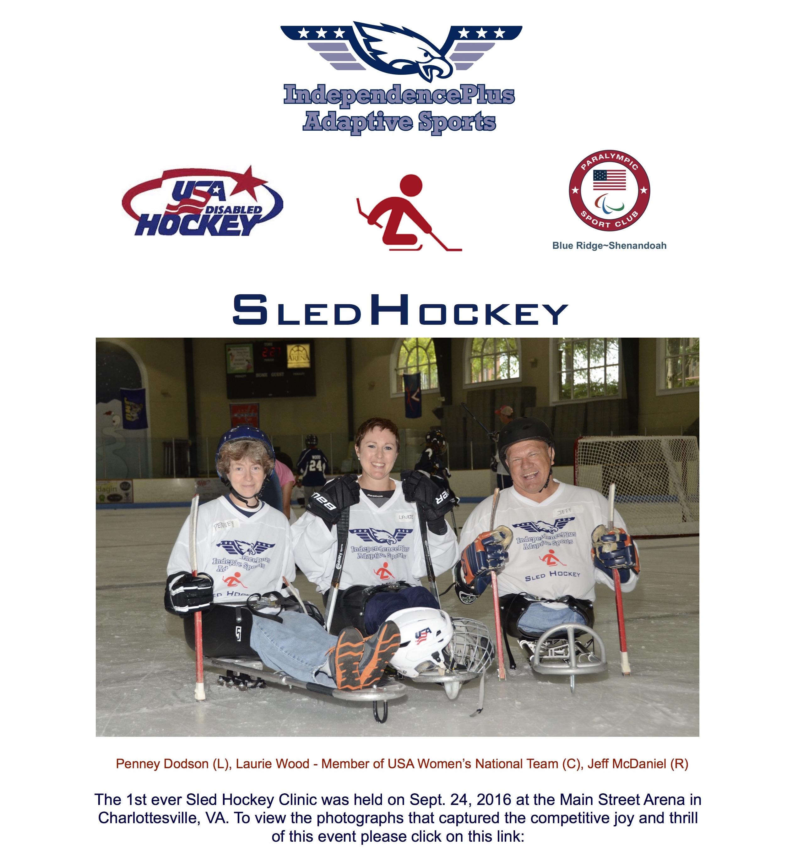 Sled Hockey Clinic