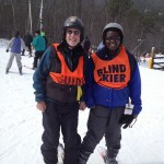 Blind Skier Mid Station