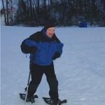 Ken Snowshoeing 3