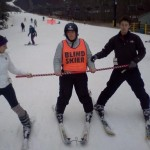 Blind Skier_Teamwork