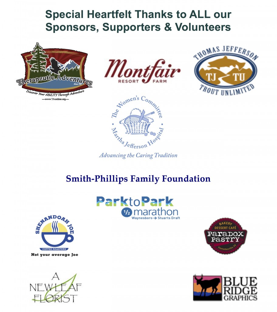 Women's Fly Fishing Retreat- Sponsors & Donors 2017_2