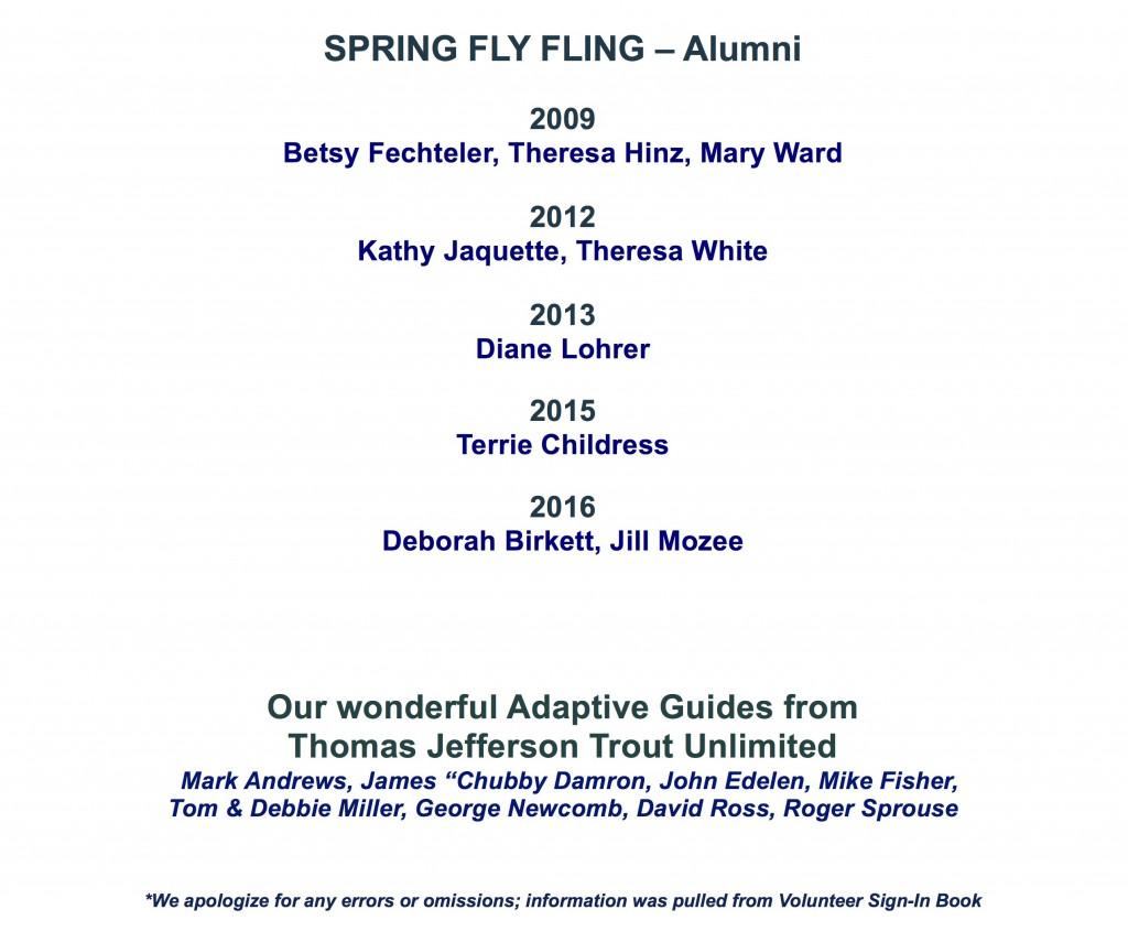 Women's Fly Fishing Retreat- Sponsors & Donors 2017_4