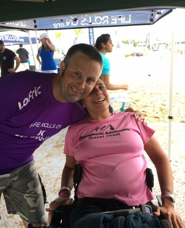 Chris and Ciara in VA Beach