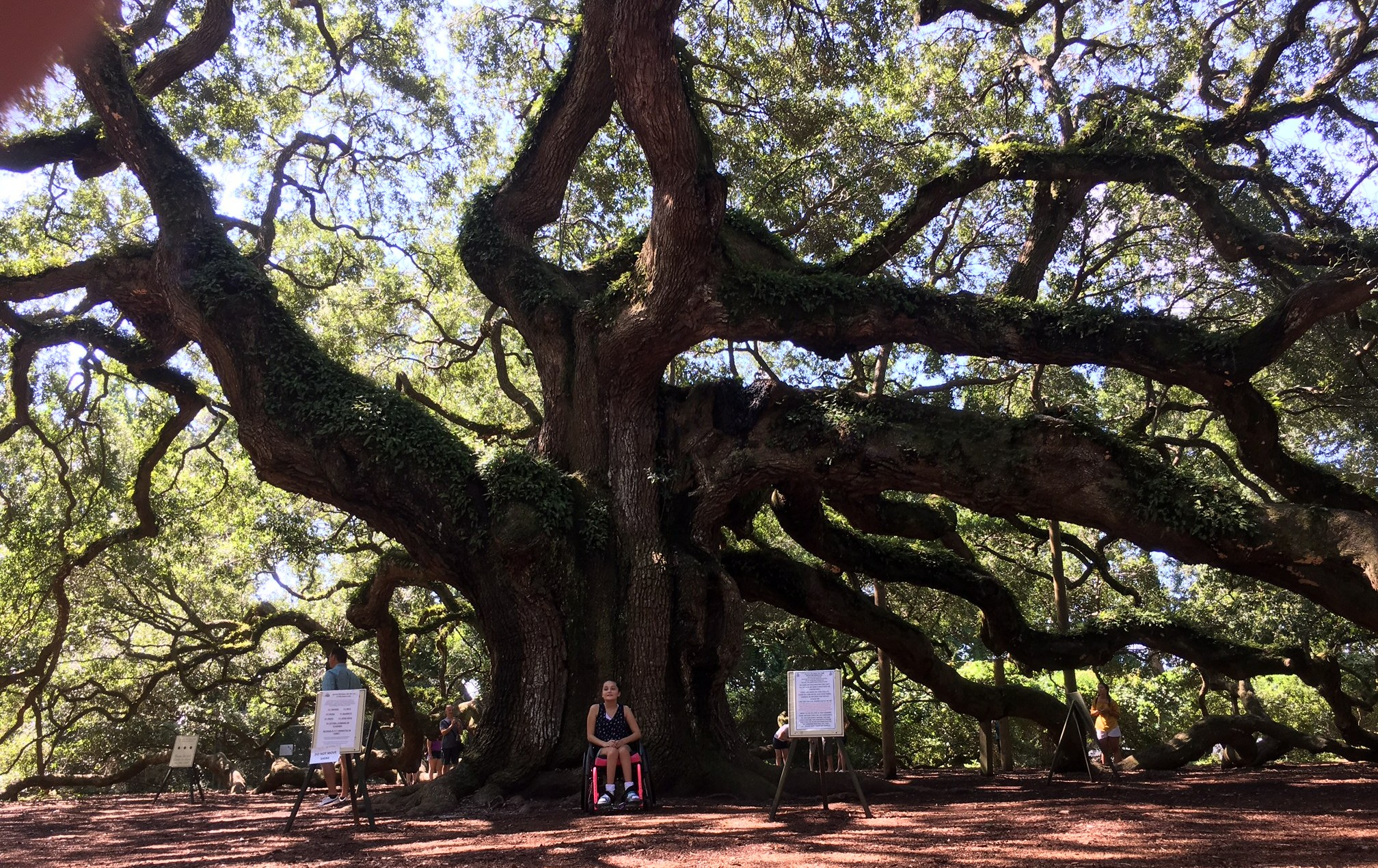 Kara with Angel Oak