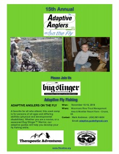 Adaptive Anglers 2018 Flyer