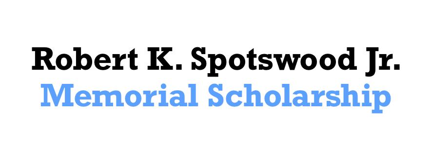 Robert K. Spotswood Scholarship Logo