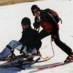 Mark & Toney Skiing_Bi-ski