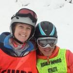 Ryan (VI skier) Hope (MASS - Instructor: Adaptive Guide)