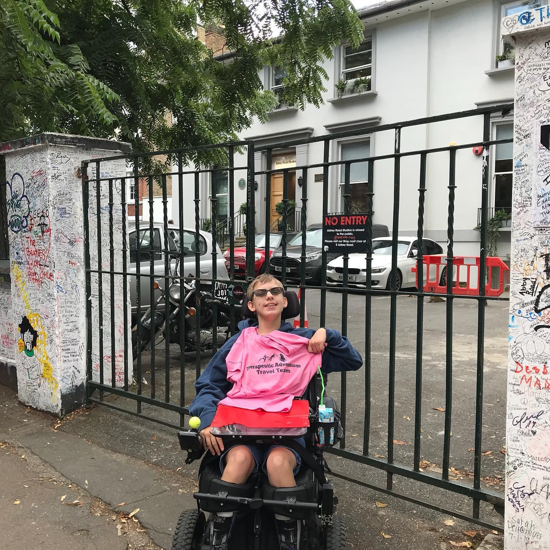 Chloe at Abbey Road, GB