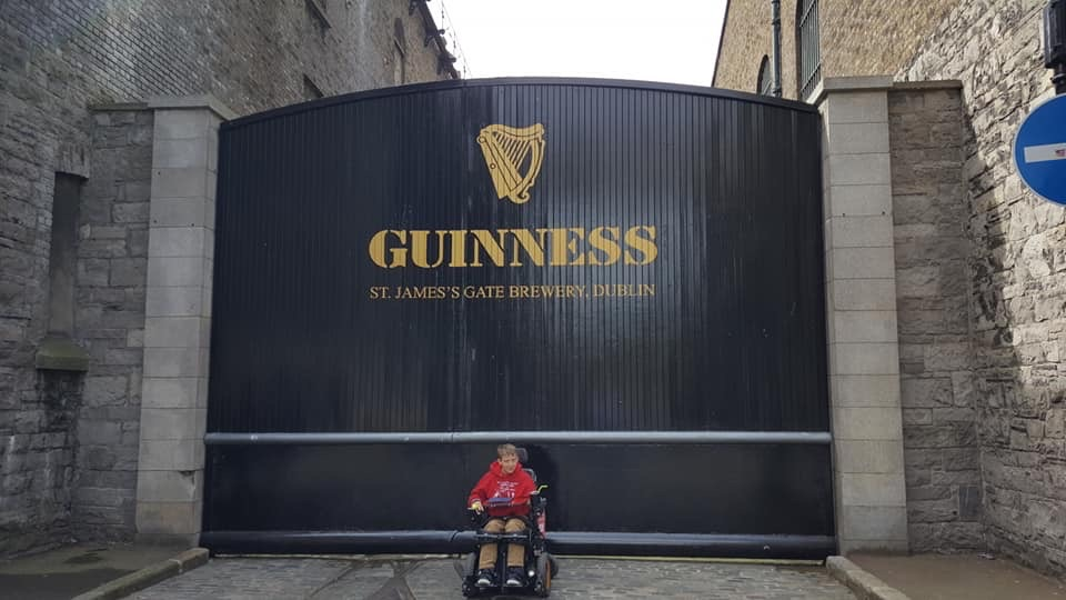 Chloe at Guinness Factory, Dublin