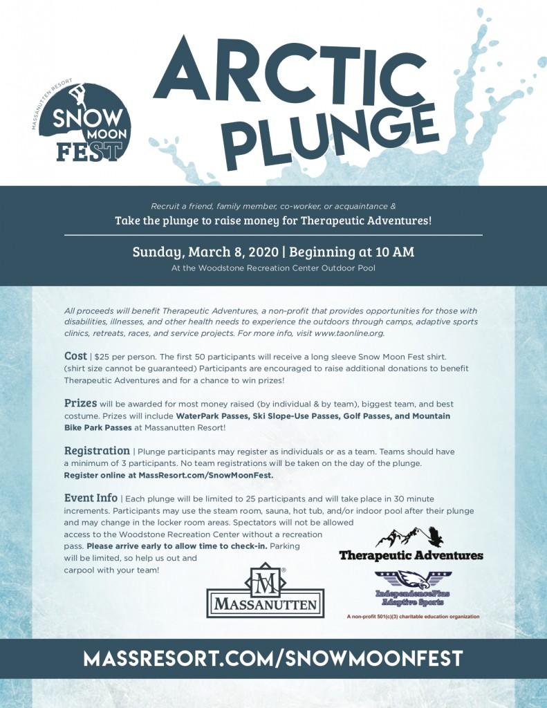 Arctic Plunge ~ March 8, 2020