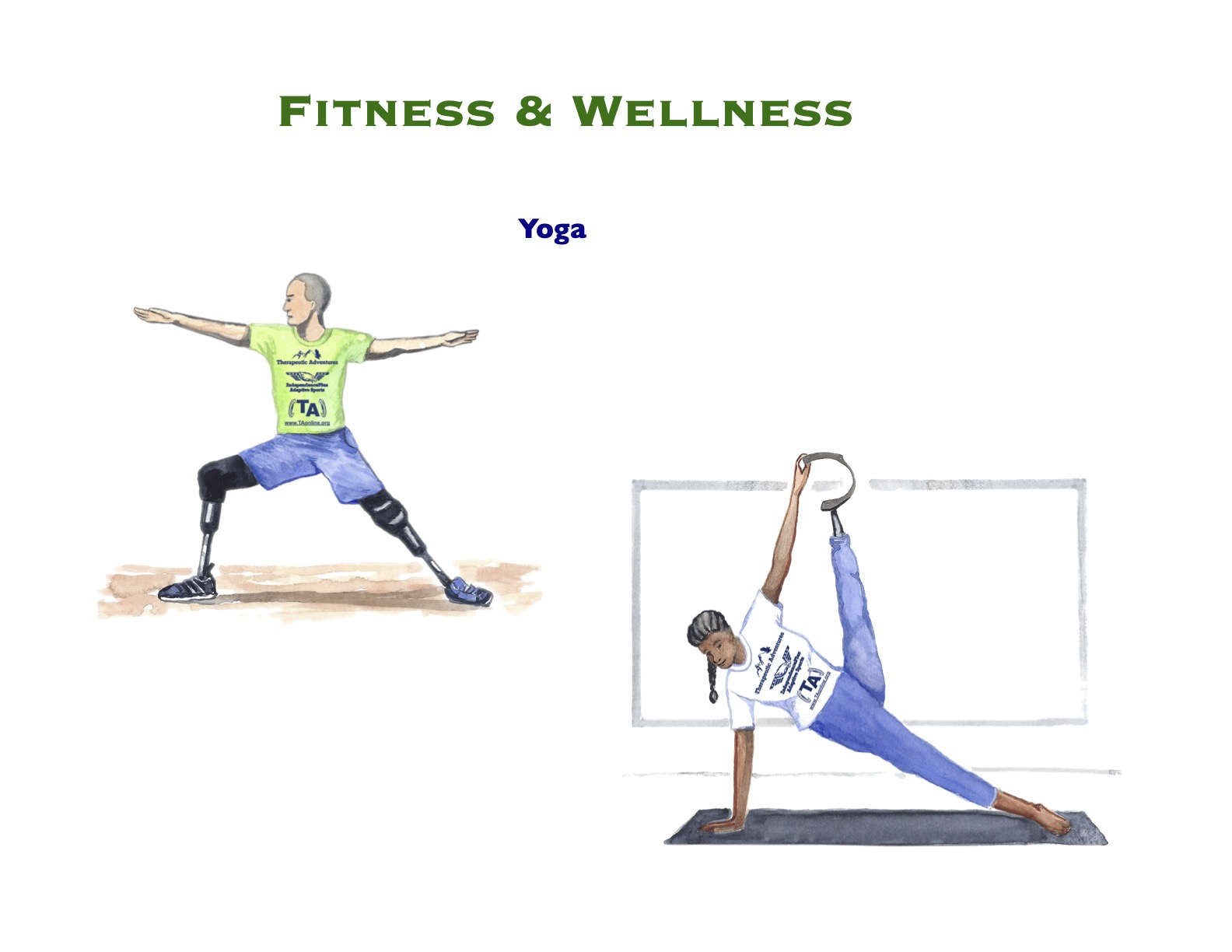 Watercolor Fitness & Wellness 8