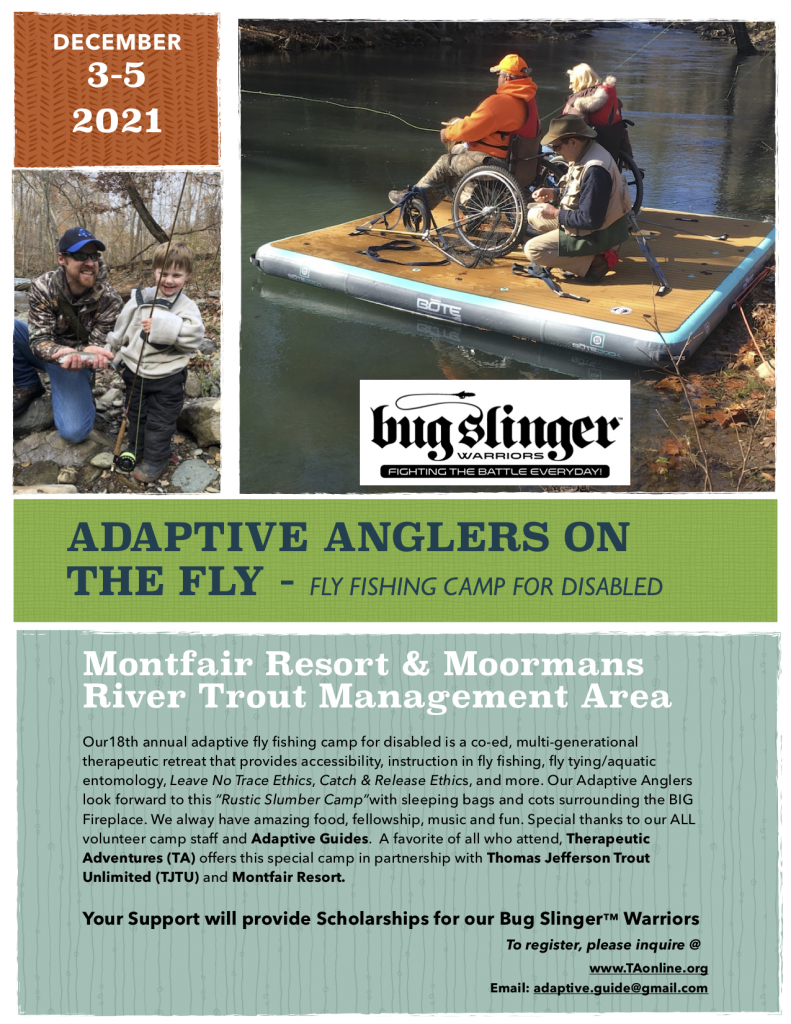 18th Annual Adaptive Anglers on the Fly